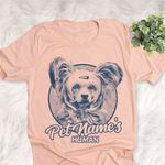 Personalized Powderpuff Chinese Crested Dog Shirts For Human Bella Canvas Unisex T-shirt