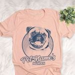 Personalized Pug Dog Shirts For Human Bella Canvas Unisex T-shirt