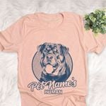 Personalized Rottweiler Dog Shirts For Human Bella Canvas Unisex T-shirt