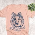 Personalized Rough Collie Dog Shirts For Human Bella Canvas Unisex T-shirt