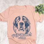 Personalized Saint Bernard Dog Shirts For Human Bella Canvas Unisex T-shirt