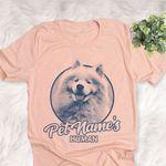 Personalized Samoyed Dog Shirts For Human Bella Canvas Unisex T-shirt