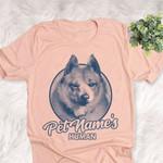 Personalized Schipperke Dog Shirts For Human Bella Canvas Unisex T-shirt