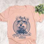Personalized Schnauzer Dog Shirts For Human Bella Canvas Unisex T-shirt