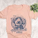 Personalized Schnoodle Dog Shirts For Human Bella Canvas Unisex T-shirt
