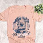 Personalized Scottish Deerhound Dog Shirts For Human Bella Canvas Unisex T-shirt