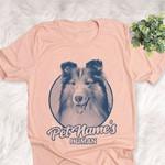 Personalized Shetland Sheepdog Dog Shirts For Human Bella Canvas Unisex T-shirt