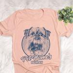 Personalized Shiffon Dog Shirts For Human Bella Canvas Unisex T-shirt