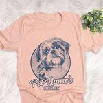 Personalized Shih Tzu Dog Shirts For Human Bella Canvas Unisex T-shirt