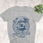 Personalized Shorkie Dog Shirts For Human Bella Canvas Unisex T-shirt