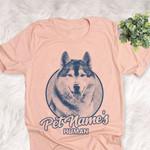 Personalized Siberian Husky Dog Shirts For Human Bella Canvas Unisex T-shirt