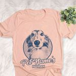 Personalized Silken Windhound Dog Shirts For Human Bella Canvas Unisex T-shirt