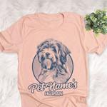 Personalized Tibetan Terrier Dog Shirts For Human Bella Canvas Unisex T-shirt