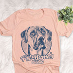 Personalized Boxane Dog Shirts For Human Bella Canvas Unisex T-shirt
