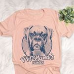 Personalized Boxer Dog Shirts For Human Bella Canvas Unisex T-shirt