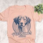 Personalized Brittany Dog Shirts For Human Bella Canvas Unisex T-shirt