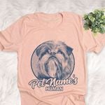 Personalized Brussels Griffon Dog Shirts For Human Bella Canvas Unisex T-shirt