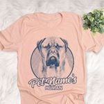 Personalized Bullmastiff Dog Shirts For Human Bella Canvas Unisex T-shirt