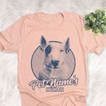 Personalized Bull Terrier Dog Shirts For Human Bella Canvas Unisex T-shirt