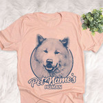 Personalized Canadian Eskimo Dog Shirts For Human Bella Canvas Unisex T-shirt
