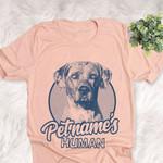 Personalized Catahoula Dog Shirts For Human Bella Canvas Unisex T-shirt
