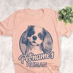 Personalized Cavalier King Charles Spaniel Dog Shirts For Human Bella Canvas Unisex T-shirt