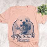 Personalized Cavachon Dog Shirts For Human Bella Canvas Unisex T-shirt