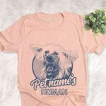Personalized Chinese Crested Puppy Dog Shirts For Human Bella Canvas Unisex T-shirt