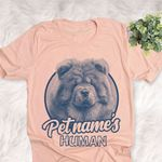 Personalized Chow Chow Dog Shirts For Human Bella Canvas Unisex T-shirt