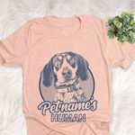 Personalized Coonhound Dog Shirts For Human Bella Canvas Unisex T-shirt