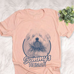 Personalized Coton de Tulear Dog Shirts For Human Bella Canvas Unisex T-shirt