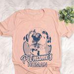 Personalized Dalmatian Dog Shirts For Human Bella Canvas Unisex T-shirt