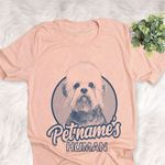 Personalized Dandie Dinmont Terrier Dog Shirts For Human Bella Canvas Unisex T-shirt