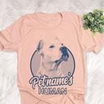 Personalized Dogo Argentino Dog Shirts For Human Bella Canvas Unisex T-shirt