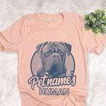 Personalized Dogue de Bordeaux Dog Shirts For Human Bella Canvas Unisex T-shirt