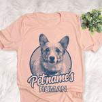 Personalized Dorgi Dog Shirts For Human Bella Canvas Unisex T-shirt