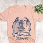 Personalized English Bulldog Dog Shirts For Human Bella Canvas Unisex T-shirt