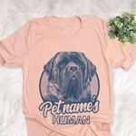 Personalized English Mastiff Dog Shirts For Human Bella Canvas Unisex T-shirt