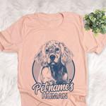 Personalized English Setter Dog Shirts For Human Bella Canvas Unisex T-shirt