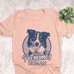 Personalized English Shepherd Dog Shirts For Human Bella Canvas Unisex T-shirt