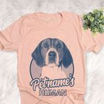 Personalized Foxhound Dog Shirts For Human Bella Canvas Unisex T-shirt
