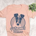 Personalized Fox Terrier Dog Shirts For Human Bella Canvas Unisex T-shirt
