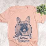 Personalized French Bulldog Dog Shirts For Human Bella Canvas Unisex T-shirt