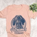 Personalized German Shorthaired Pointer Dog Shirts For Human Bella Canvas Unisex T-shirt