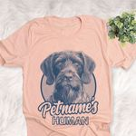 Personalized German Wirehaired Pointer Dog Shirts For Human Bella Canvas Unisex T-shirt