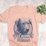 Personalized Goldador Dog Shirts For Human Bella Canvas Unisex T-shirt