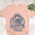 Personalized Golden Doodle Dog Shirts For Human Bella Canvas Unisex T-shirt
