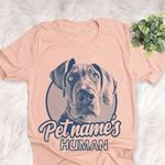 Personalized Great Dane Dog Shirts For Human Bella Canvas Unisex T-shirt