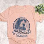 Personalized Grand Basset Griffon Vendéen Dog Shirts For Human Bella Canvas Unisex T-shirt