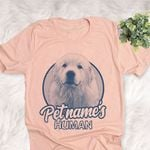 Personalized Great Pyrenees Dog Shirts For Human Bella Canvas Unisex T-shirt